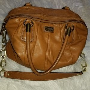 COACH brand brown leather purse